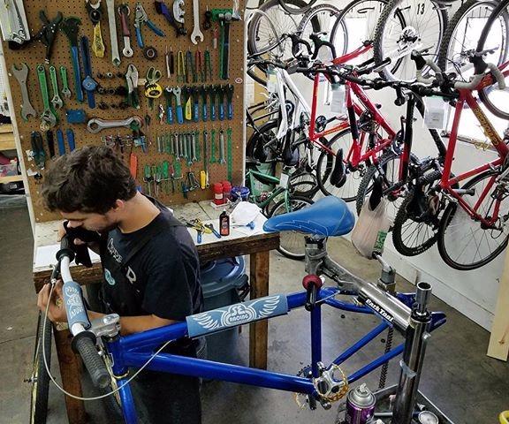 Papa Wheelie Bicycles - Bike Repair