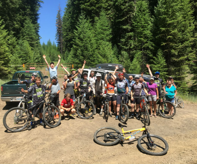 Post ride group pic