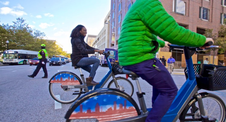 Riding Rental Bikes Around Baltimore