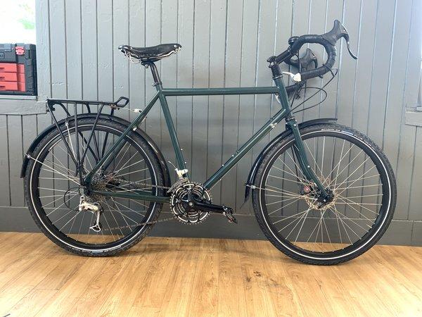 Bike Tech Usedbike Surly Disc Trucker 54 Dk Grn