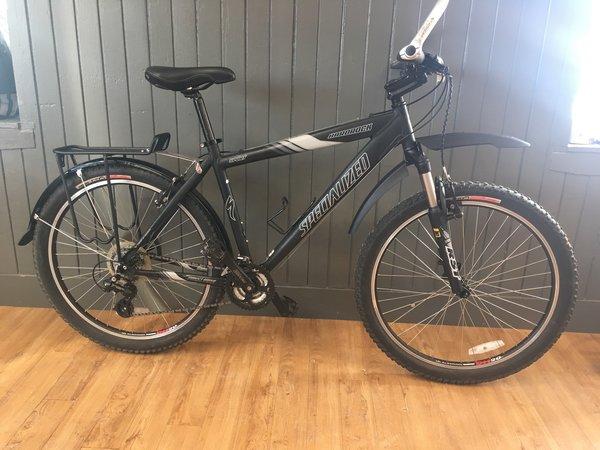 Bike Tech Usedbike Specialized Hardrock Spt Blk/Gry LG