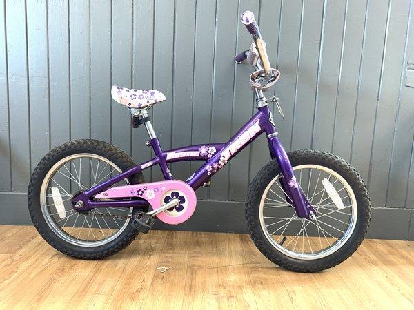 """Bike Tech Usedbike Trek Mystic Kids 16"""" Purple"""
