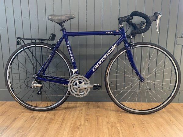 """Bike Tech Usedbike Cannondale R400 21"""" Blue"""