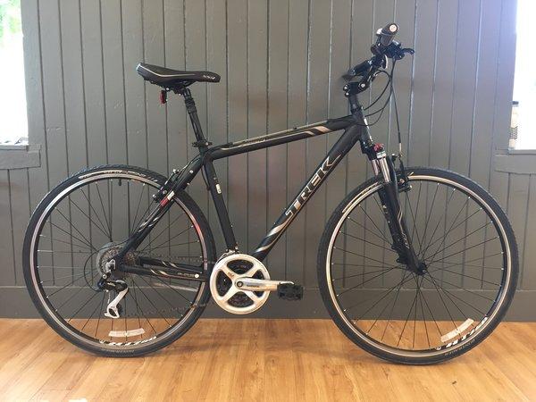 "Bike Tech Usedbike Trek 7250 20"" blk"