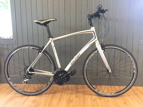 Bike Tech Usedbike Raleigh Cadent FT1 Silver LG