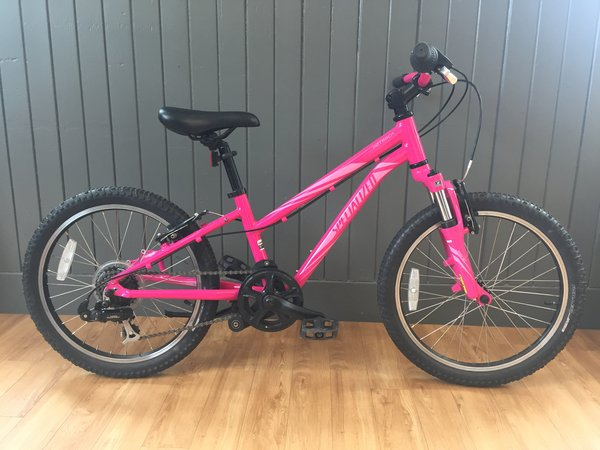 "Bike Tech Usedbike Specialized Hotrock 20"" Girls Pnk/Pnk"