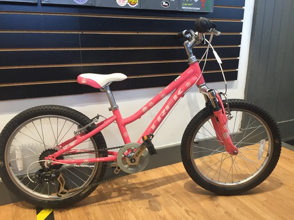 "Bike Tech Usedbike Trek MT60 Girls 20"" Pink"