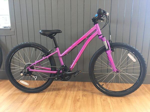 """Bike Tech Usedbike Specialized Hotrock Girls 24"""" Purp"""