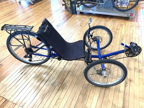 Bike Tech Usedbike TerraTrike Recumbent Blue