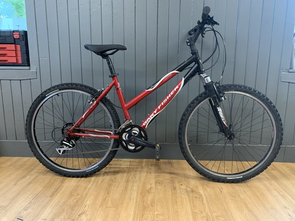 "Bike Tech Usedbike Gary Fisher Tarpon 17"" Blk/Red"