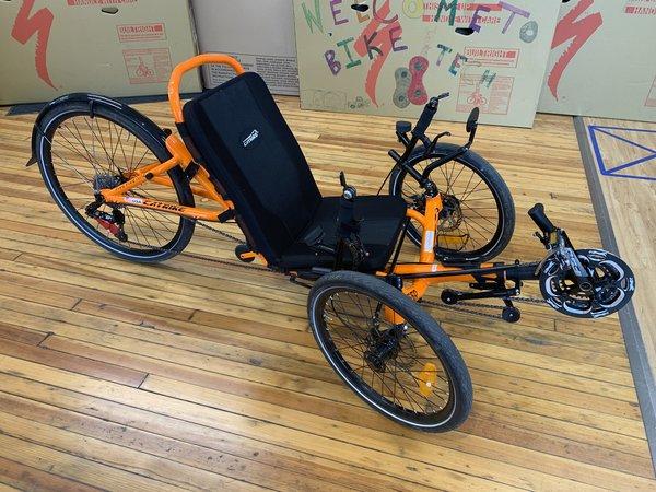 Bike Tech Catrike 559 Atomic Orange - Demo