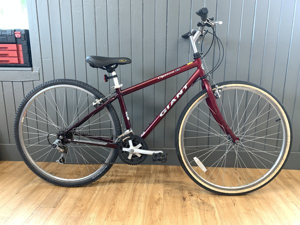 Bike Tech Usedbike Giant Option X MD Red