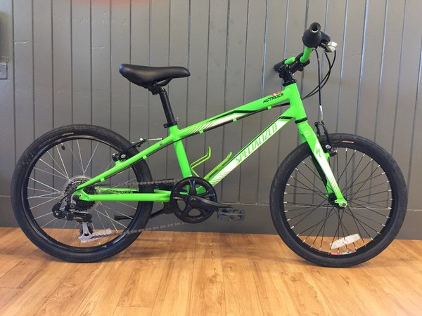 "Bike Tech Usedbike Specialized Hotrock Street 20"" Grn"