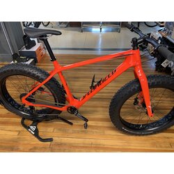 Specialized USED FATBOY COMP CARBON RKTRED/BLK/GRY XL