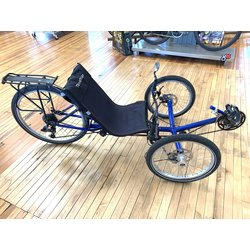 Bike Tech Usedbike TerraTrike Recumbent Blue