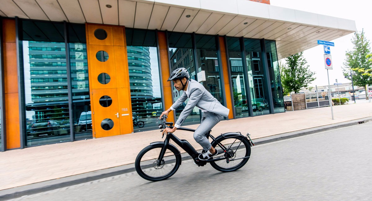 Electric bikes are perfect for commuting