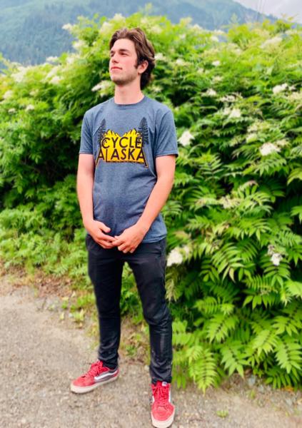 Cycle Alaska Cycle Alaska Men's T-shirt Dark Heather