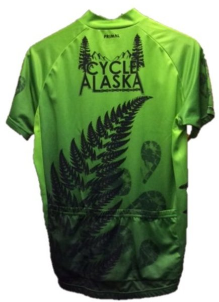 Cycle Alaska Cycle Alaska Jersey Men's Sport Green