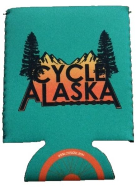 Cycle Alaska Cycle Alaska Koozie Green