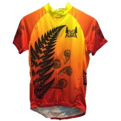 Cycle Alaska Cycle Alaska Jersey Men's Sport Orange Fade