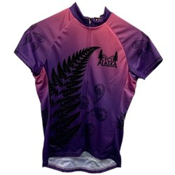 Cycle Alaska Cycle Alaska Jersey Women's Sport Purple Fade