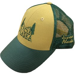 Cycle Alaska Cycle Alaska Canvas Mesh Cap Whiskey/Cypress/Cypress