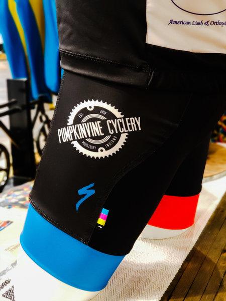 Pumpkinvine Cyclery PVC Racing | Men's SL Expert Bib Short