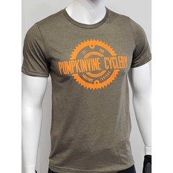 Pumpkinvine Cyclery Logo T-Shirt