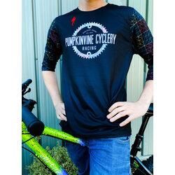 Pumpkinvine Cyclery PVC Racing | 3/4 Sleeve MTB Jersey