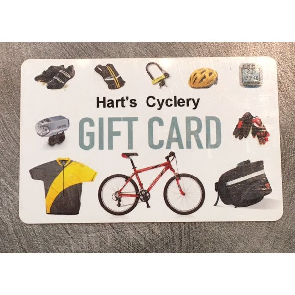 Harts Cyclery Gift Card