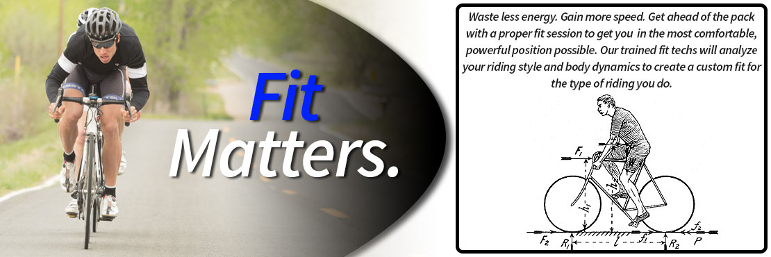 Fit Matters | Waste less energy. Gain more speed.