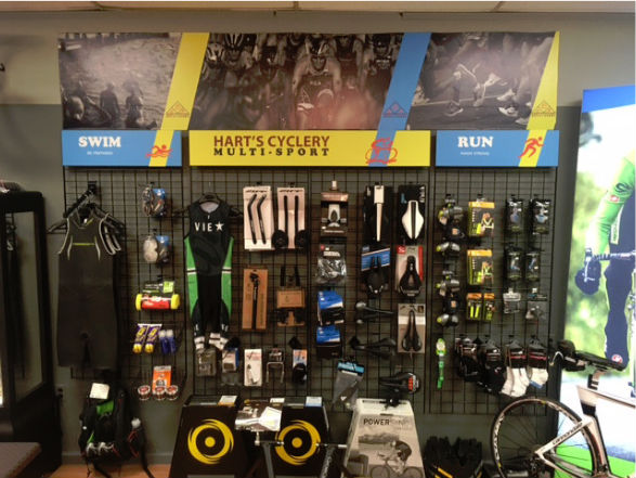 Hart's Cyclery Multi-Sport product wall