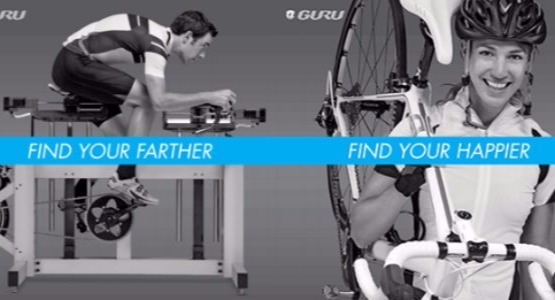 Guru Bike Fitting. Find your farther. Find your happier.