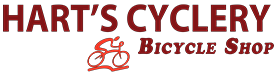 Hart's Cyclery Bicycle Shop logo - link to home page