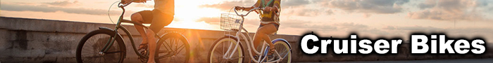 Cruise around town on a sweet Cruiser Bike from KLM Bike & Fitness!