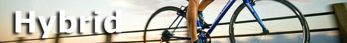 Try the versitility of a hybrid bike!