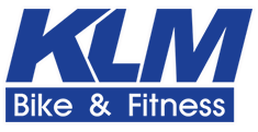 KLM Bike & Fitness Logo