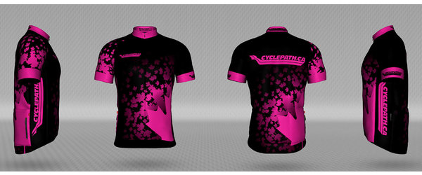 Jakroo Cyclepath custom Leaves jersey