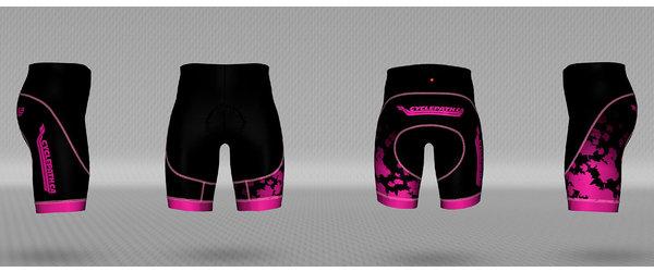 Jakroo Cyclepath Custom Leaves shorts