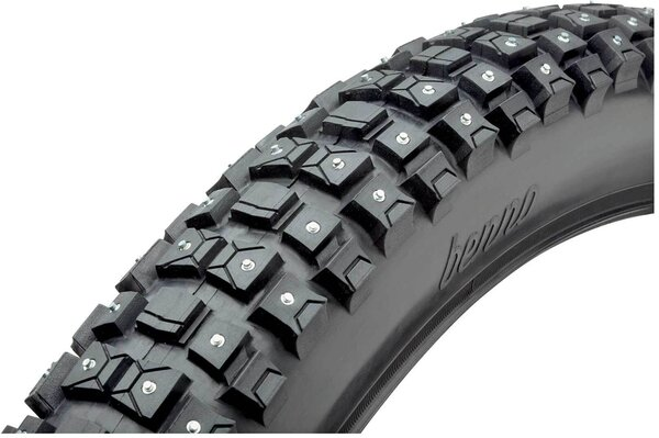 "Benno Bikes Studded Snow Tire 24""x 2.5"""