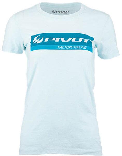 Pivot Cycles Pivot Factory Racing Women's Tee - Ice