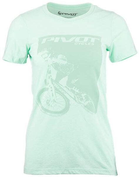 Pivot Cycles Pivot Rider Women's Tee - Mint