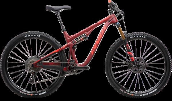 Pivot Cycles DEMO PROGRAM: Pivot Trail 429 v2, Pro XT/XTR, 12 Speed, Carbon Wheelset, Red, Medium