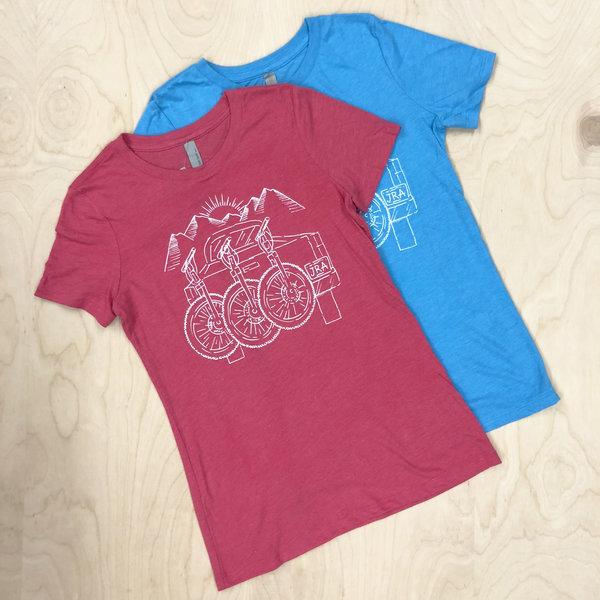 JRA Cycles T-Shirt: Women's Trailbound