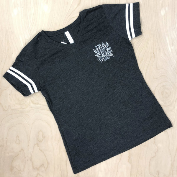 JRA Cycles T-Shirt: Women's Varsity Seal Tee