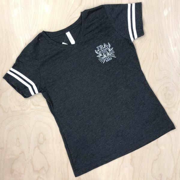 JRA Cycles T-Shirt: Women's Varsity Seal Tee