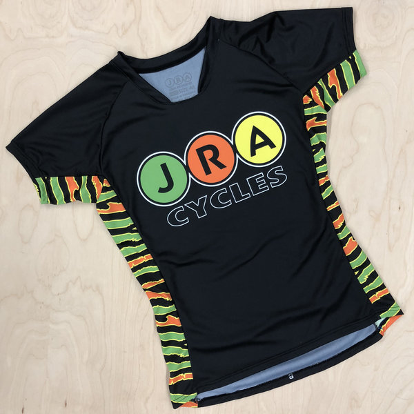 JRA Cycles Jersey: JRA Fells Jersey, Womens, Zebra