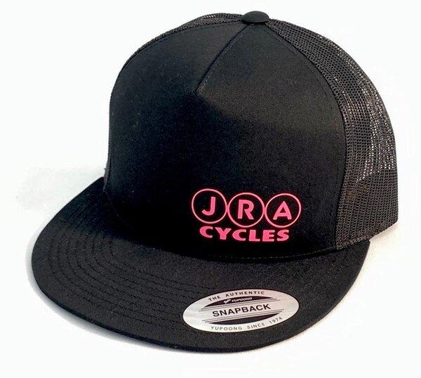 JRA Cycles JRA Hat - Black/Pink