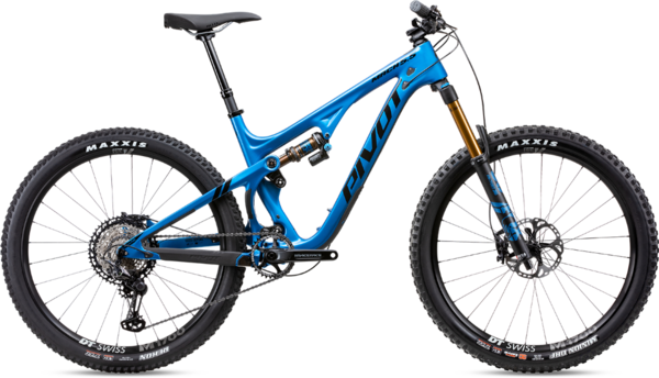 Pivot Cycles Mach 5.5 Pro XT/XTR Blue Small Carbon Rims
