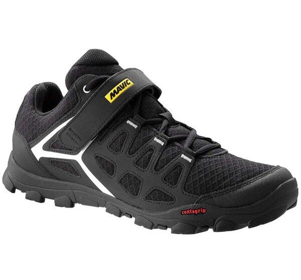 Mavic Shoes: Mavic Crossride, Black/White, US Men's Size 8